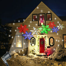 6 LED Laser Projector Light Christmas Xmas Wall Garden Image Lamp Indoor/Outdoor