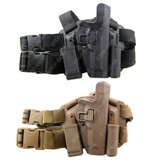 Tactical Drop Leg Thigh Right-hand Holster With Magazine Pouches Beretta M9 M92