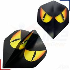 1/3/5/10/20 Sets Metronic Poly Snake Eyes Orange Dart Flights Standard Strong