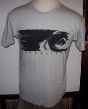 NEW Quiksilver  tee short sleeve t shirt men sz small or large gray black waves