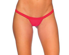 Body Zone 1141SL Sexy Comfort Strap T Back Thong Large several colors