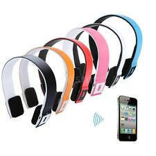 Wireless Bluetooth Stereo Headset Headphone with Mic For iPhone Tablet PC 6Z6L