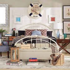 Lacey Round Curved Double Top Arches Victorian Iron Metal Bed by iNSPIRE Q Class