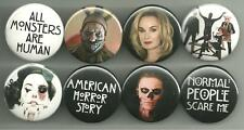 American Horror Story Freak Show 1.5 inch Pins Buttons Magnets