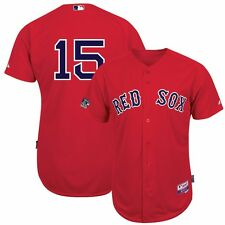 Dustin Pedroia 2013 Boston Red Sox Authentic Red World Series Cool Base Jersey