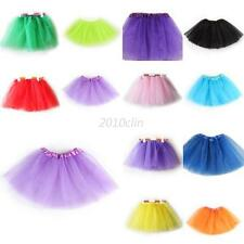3 Layer Tutu Ballet Dance Dress Skirt Pettiskirt Costume Girls Kid Party 2-7T