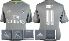 *15 / 16 - ADIDAS ; REAL MADRID AWAY SHIRT SS / OWEN 11 = KIDS SIZE*