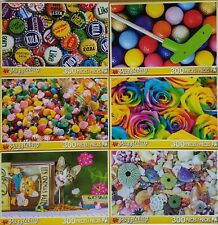 300 PIECE JIGSAW PUZZLES Puzzle SELECT: Balloons Bottle Caps Candy Cat Roses..