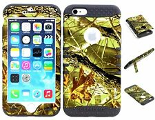 iphone 6s Hybrid Impact Cover Case Exclusive Camo Mossy on Gray