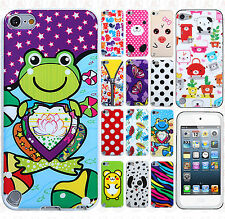 For iPod Touch 6 6th Gen TPU CANDY Gel Flexi Skin Case Cover +Screen Protector