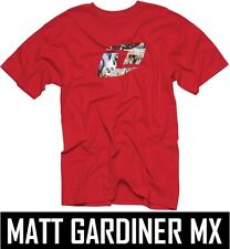 ONE INDUSTRIES KIDS YOUTH T-SHIRT FILTHY PUNKED TEE RED boys motocross mx