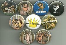Where The Wild Things Are Maurice Sendak 1.5 inch Pins Buttons Magnet Set