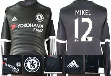*15 / 16 - ADIDAS ; CHELSEA 3rd KIT SHIRT LS / MIKEL 12 = SIZE*