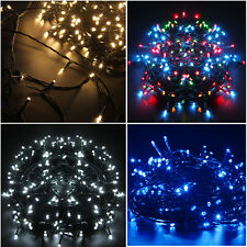 20M 200 LED Static/Twinkling Lights Fairy Christmas Tree Strings Indoor Outdoor