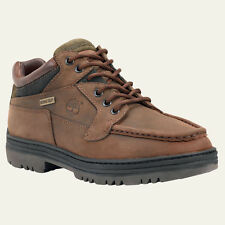 Timberland Mens Waterproof Chukka Gore-Tex Brown Leather Boots Style # 37042