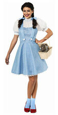 The Wizard of Oz Dorothy Halloween Costume Dress Adult Woman 887378