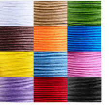 1 Roll 80M Waxed Cotton Macrame Cord Thread DIY Jewelry Making Rope String Wire