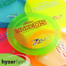 Discraft Z FLX NUKE OS *pick your color and weight* Hyzer Farm disc golf driver