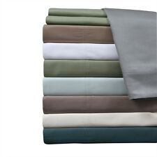 "King-Size 4PC 100% Bamboo Viscose Sheets, 18"" Deep Pocket 600 TC Sheet Set"