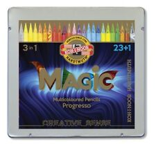 Koh-i-noor Progresso Woodless Colored Pencils Magic multicoloured 12 or 24 colo