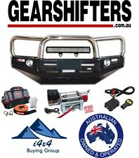 HOLDEN COLORADO 7 DELUXE LOOP BULL BAR STAINLESS LOOPS 2012 - 2015 4X4 4X2 COMBO
