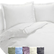 Wrinkle Free Combed Cotton Blend Queen-Size Sheet sets 600 Thread count Solid