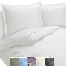 Wrinkle Free Cotton Blend Queen-Size Sheet Sets,600 TC 4PC Solid Bed Sheets