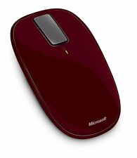 [NEW]  Microsoft Explorer Touch Wireless Mouse - Sangria Red