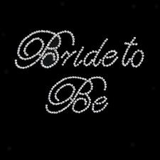 Rhinestone Sticker Wedding Bachlorette Hens Night - Bridesmaid/I Do/Bride To Be
