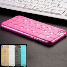 New ! Luxury Shockproof Silicone/Gel/Rubber Case Slim Cover For iPhone Sony LG