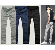 Men's Casual Joggers Jogging Pants Sport Gym Trousers Tracksuit Bottoms
