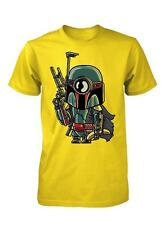 BNWT BOBA FETT MINION BOUNTY HUNTER STARWARS TROOPER ADULT T SHIRT S-XXL