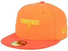 Miami Floridians ABA Hardwood Classics New Era Orange Flat Bill Brim Hat Cap Lid