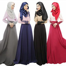 Ladies Maxi Dress Muslim Abaya Kaftan Islamic Clothing Amira Lady Cocktail Dress
