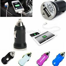 Universal Mini Car Vehicle USB Cigarette Lighter Power Charging Adapter Adaptive