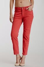 NEW NYDJ Not Your Daughters Jeans pants Alisha Ankle Red Geranium sz 6P