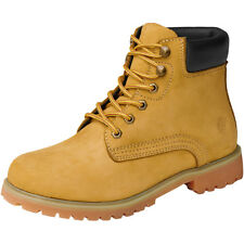 Brandit Kenyon Padded Leather Military Boots Army Patrol Mens Footwear Camel