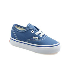 Vans Authentic Navy Blue White Infant Toddler Baby Boy Girl Shoes Size 4-10