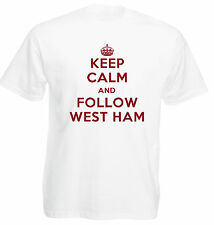 Keep Calm Football T-Shirt - West Ham