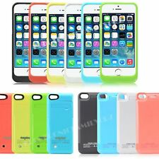 iPhone 5 5S 5C Portable Power Bank Charger External Backup Battery Case 4200mAh