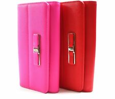 LADIES LARGE FASHION PURSE CREDIT CARD HOLDER  CLUTCH BAG PARTY EVENING BOXED