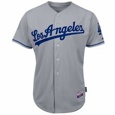 2015 Los Angeles Dodgers Authentic On-field Grey Road Cool Base Jersey