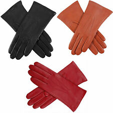 Dents Isabelle Women's 100% Cashmere Lined Leather Gloves - Style: 71134