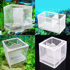 Aquarium Fish Tank Guppy Breeding Breeder Baby/Fry/Newborn Net Trap Box Hatchery