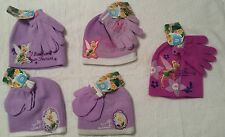 Disney TINKERBELL Winter Hat Beanie & Mittens or Gloves  GIRLS ONE SIZE ~ NWT