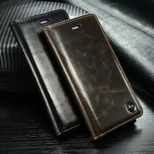 Luxury Leather Case Magnetic Card Holder Flip Wallet Cover For Apple iPhone 5/5S