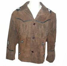 Kfire  Western A Grade Suede Leather Jacket - Select Sizes