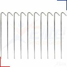 Football Goal Net Wire Ground Grass Metal Peg 1, 5, 10 , 20, 30, 40 or 50 Pegs