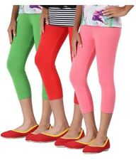 Cotton Leggings 3/4 Length , All Sizes and Colors *3/4lg