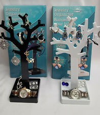 NEW ~ TREE JEWELRY HOLDER ~ Earrings Ring Necklace Display Stand Organizer